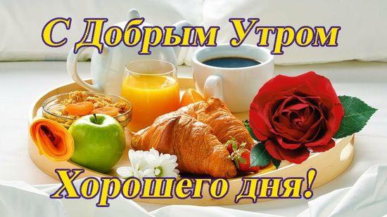 Картинки с добрым утром красивые и душевные