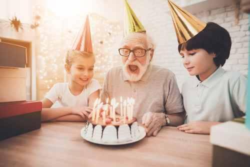 Поздравление с днем рождения дедушке своими словами