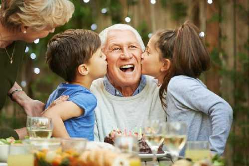 день рождения папы и дедушки